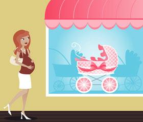baby store window